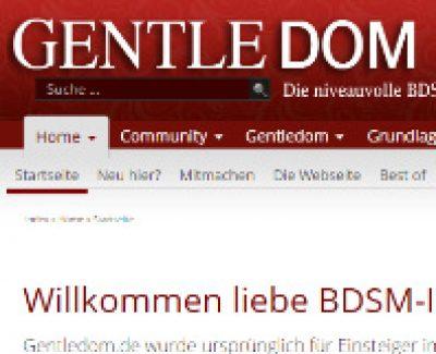 Interview mit Gentledom.de – Die kostenlose & niveauvolle BDSM-Community