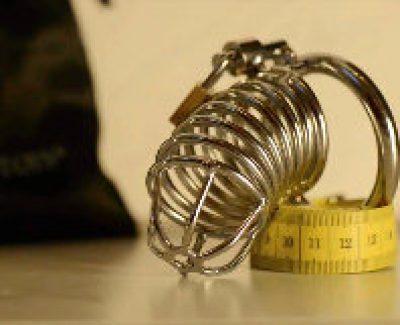 Peniskäfig aus Metall
