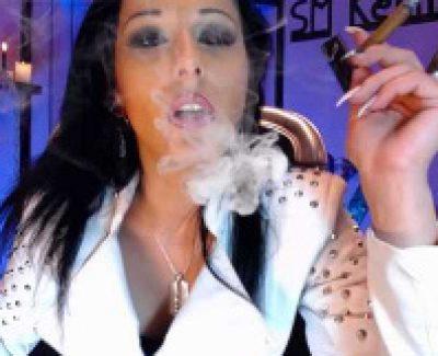 Smoking-Fetisch